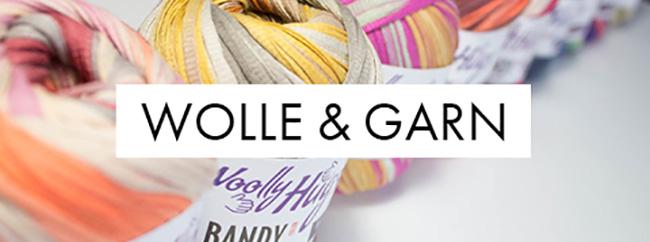 Wolle garn banner