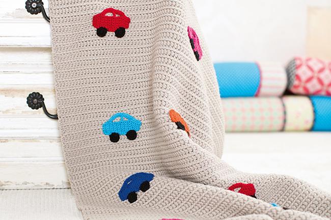 Autodecke Für Kinder Häkeln
