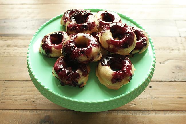 Blaubeer donuts 14