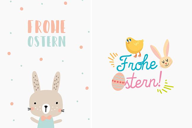 Nur Für Dich: Osterkarten Zum Gratis-Download