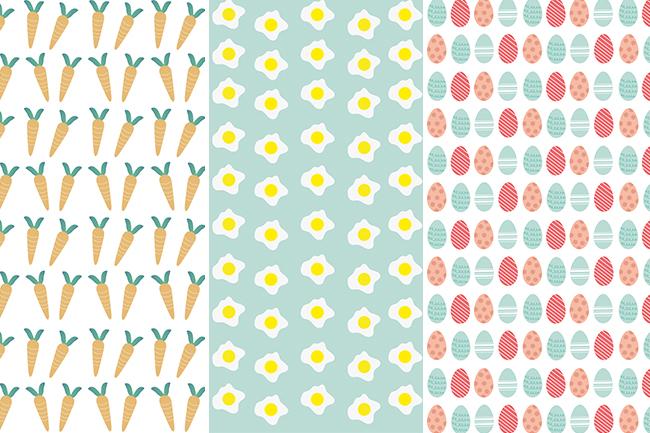 Couverture de papier d'emballage de Pâques