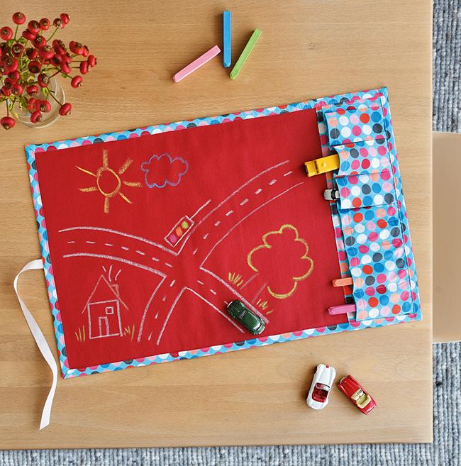 Spielteppich Nähen spaß to go spielteppich für kinder nähen