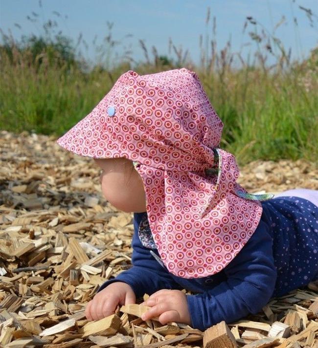 Sonnenmütze nackenschutz