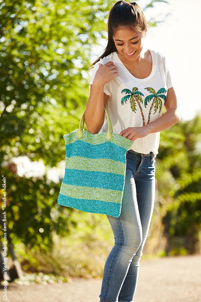 Sommer Tasche Einfach Selber Häkeln