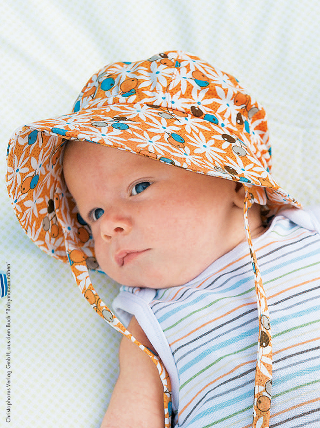 Sonnenmütze babys ganz