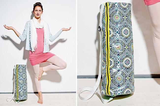 Einfach und praktisch: Yogarollentasche selber nähen!