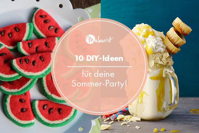 10 diy ideen für deine sommer party main
