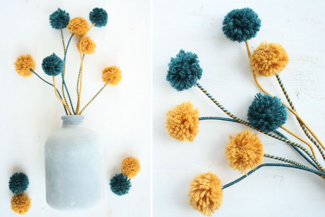 Pom pom blumen kati make it cover