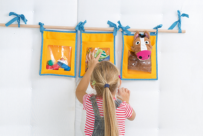 Wand utensilo für kinder nähen cover