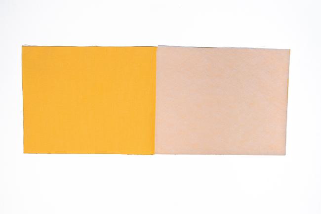 Wand utensilo für kinder nähen step 1