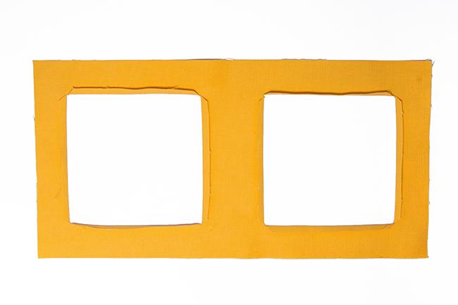 Wand utensilo für kinder nähen step 2