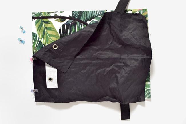 Backpack selber nähen step 17