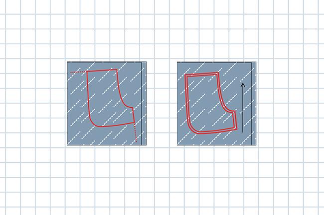 Hose nähen ohne schnittmuster step 10