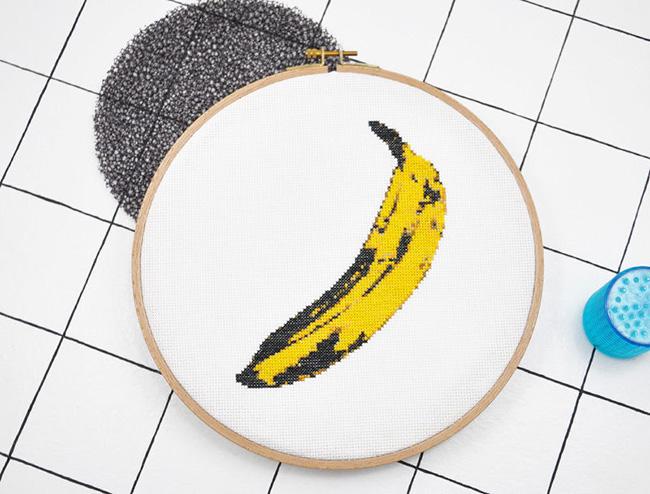 10 diy projekte für die küche stickdatei banane