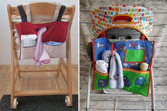 10 diy projekte für die baby shower hochstuhl utensilo
