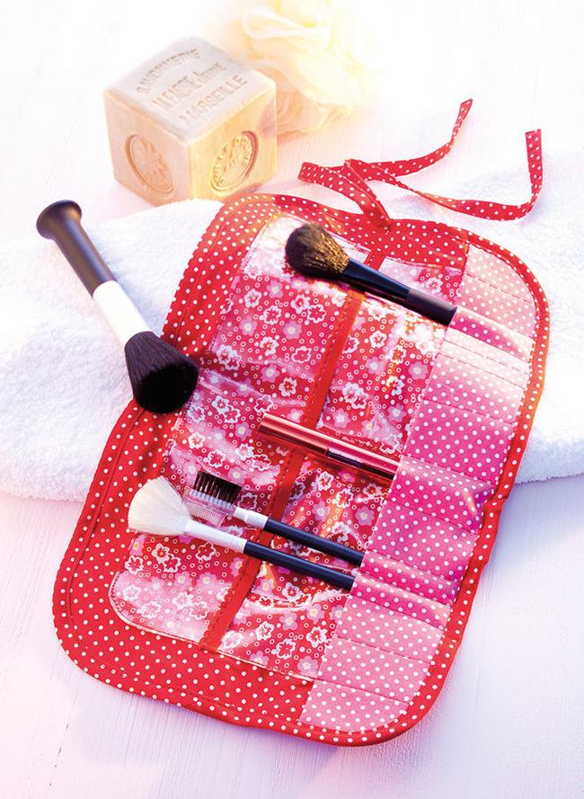 8 diy projekte für dein bad pinsel tasche