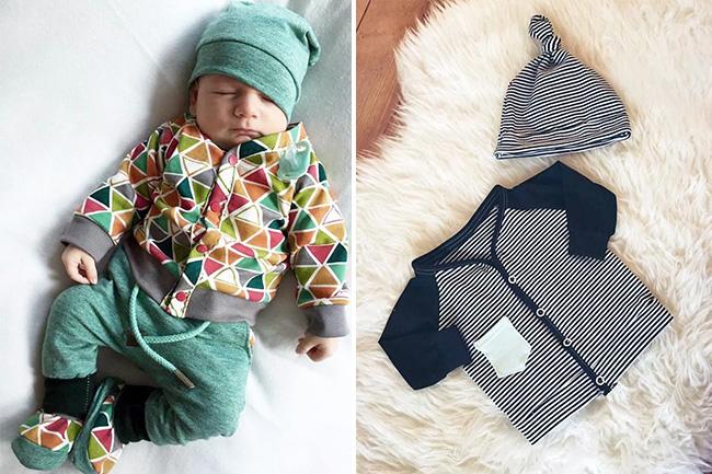 10 näh ideen für kinder im herbst baby cardiganjpg