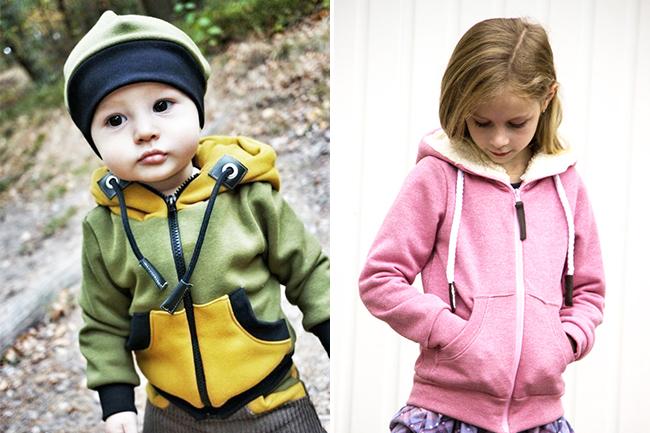 10 näh ideen für kinder im herbst zipper hoodie