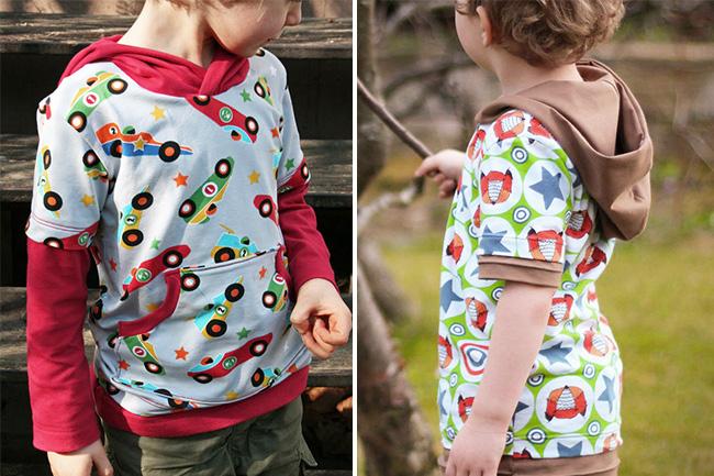 10 näh ideen für kinder im herbst sweater