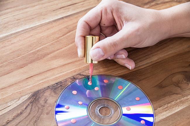 Spindel selber machen variante cd step 1