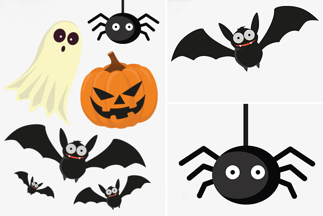 Halloween deko freebie printables main