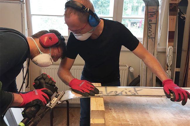 Skier selber bauen craftski makerist axel 2