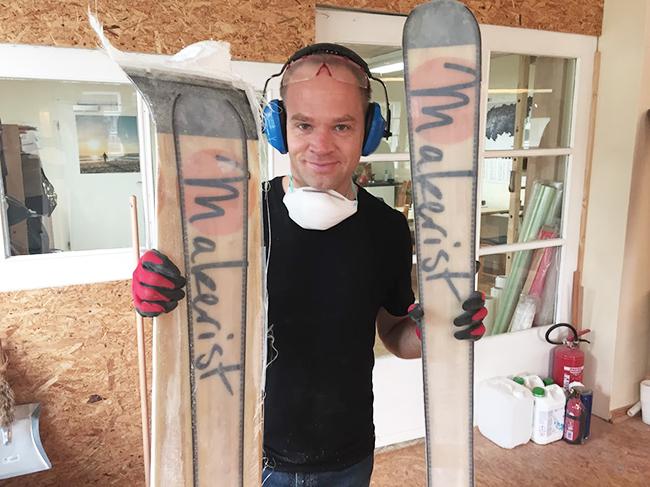 Skier selber bauen craftski makerist axel 3