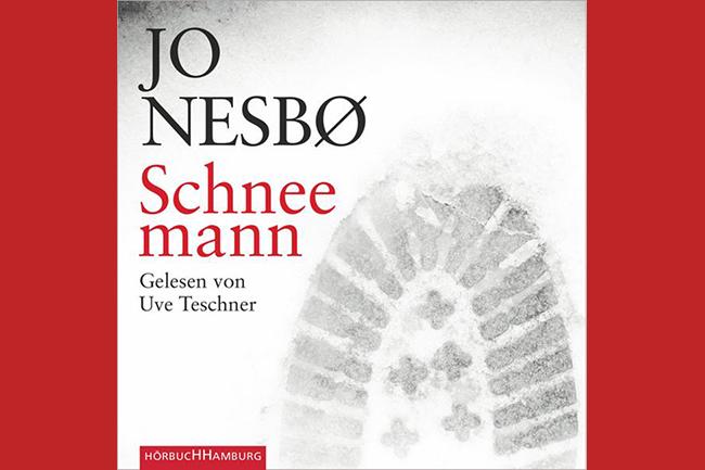 8 hörbücher für handarbeit schneemann jo nesbo