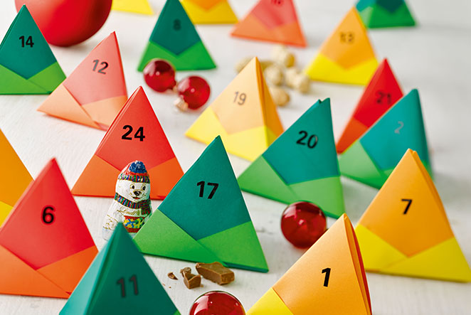 Origami adventskalender main