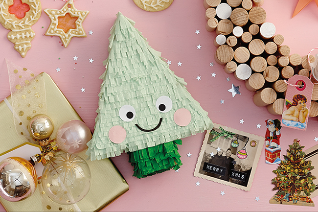 Pinata weihnachten selber machen cover