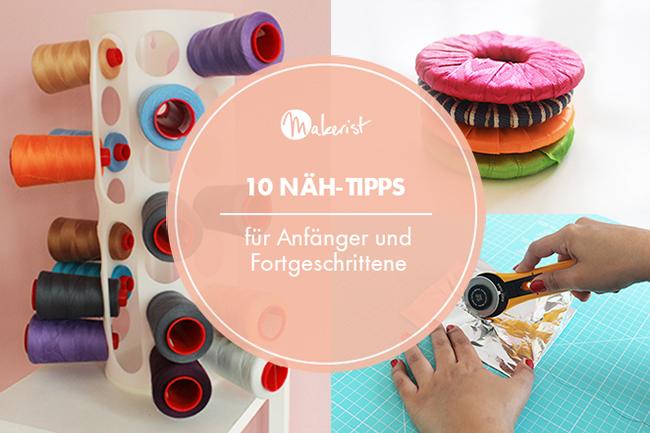 10 näh tipps für anfänger und fortgeschrittene cover