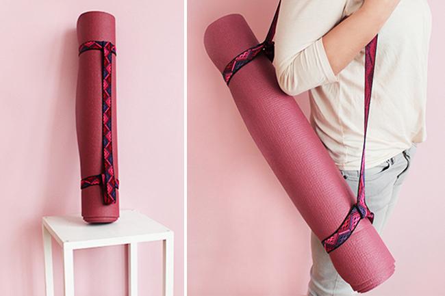 Yogarollen halter selber nähen cover