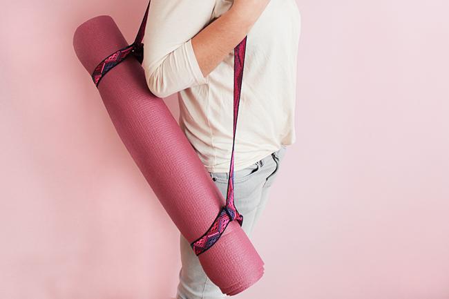 Yogarollen halter selber nähen ganz 1