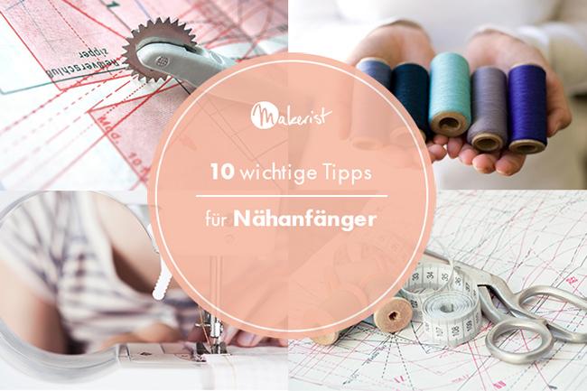 10 wichtige tipps nähanfänger cover