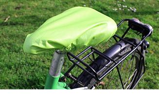 Fahrradsattel schutz nähen tile