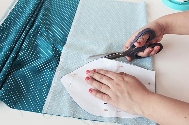 Leseknochen selber nähen anleitung sewsimple step 2