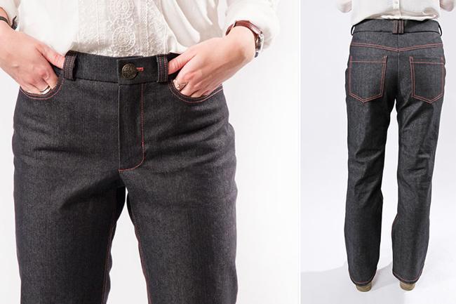 In 10 video kursen zum näh profi jeans nähen