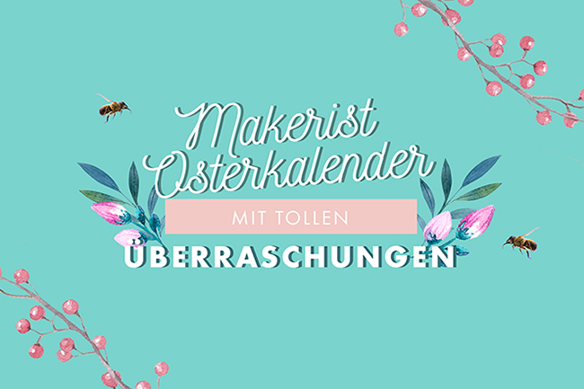 Makerist osterkalender cover