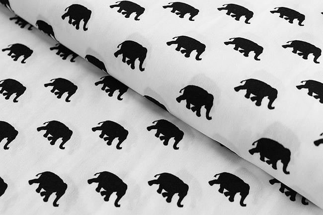 Die 10 schönsten frühlingsstoffe baumwollstoff elefanten print