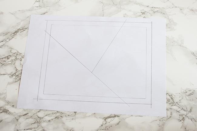 Mug rug nähen step 2