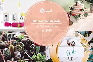 10 diy hochzeitstrends 2018 tile