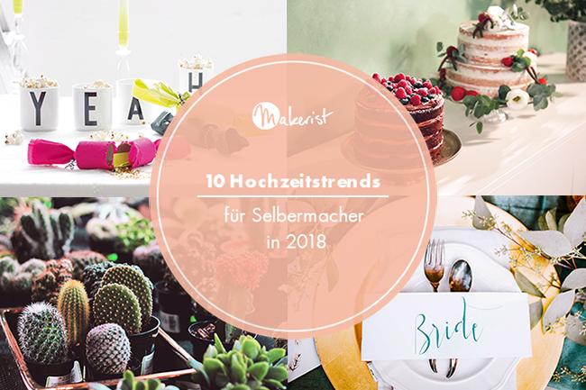 10 diy hochzeitstrends 2018 cover