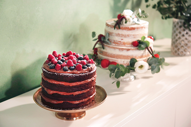 10 diy hochzeitstrends 2018 naked cake