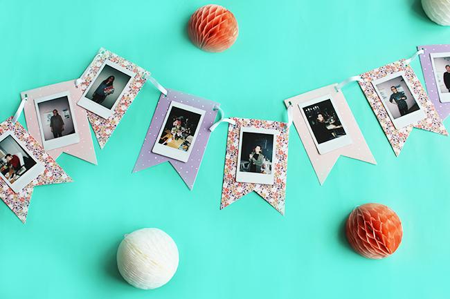 Wimpelkette mit polaroids tesa basteln cover