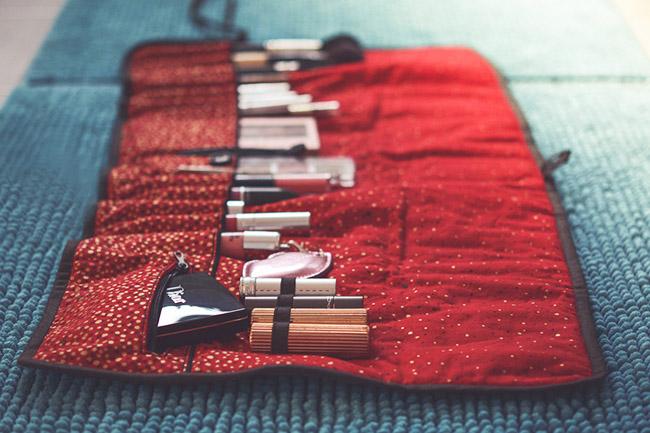 10 nähideen urlaubszeit makeup utensilo