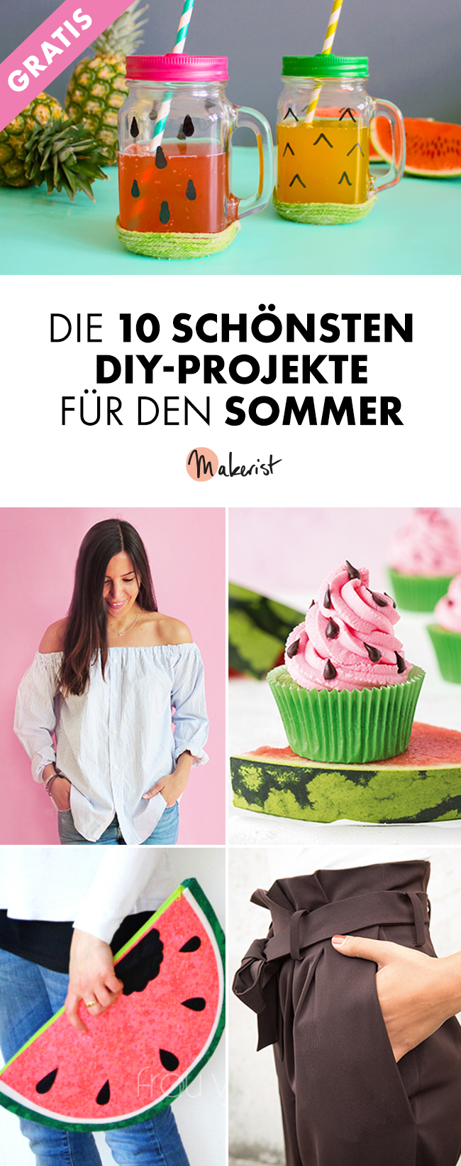 Makerist 10sommerprojekte pin