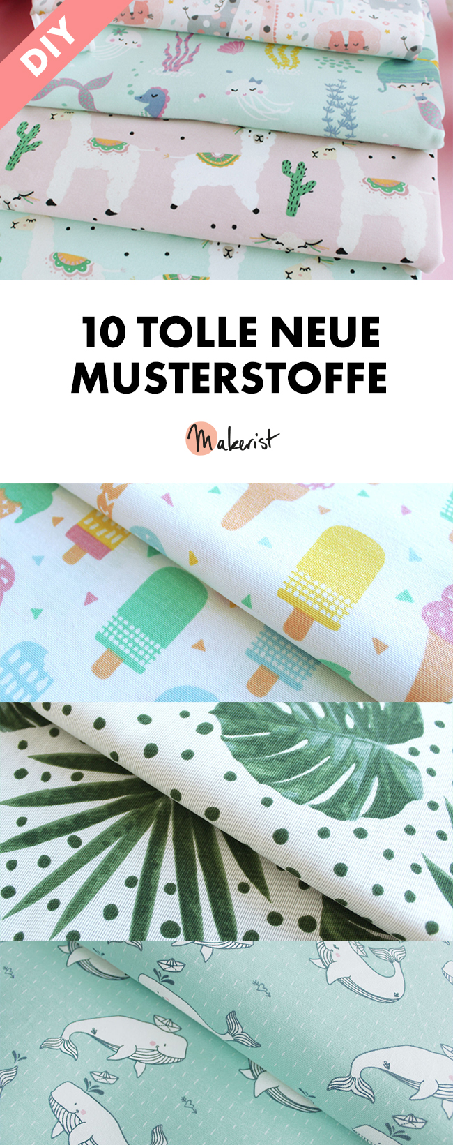 Makerist musterstoffe pin