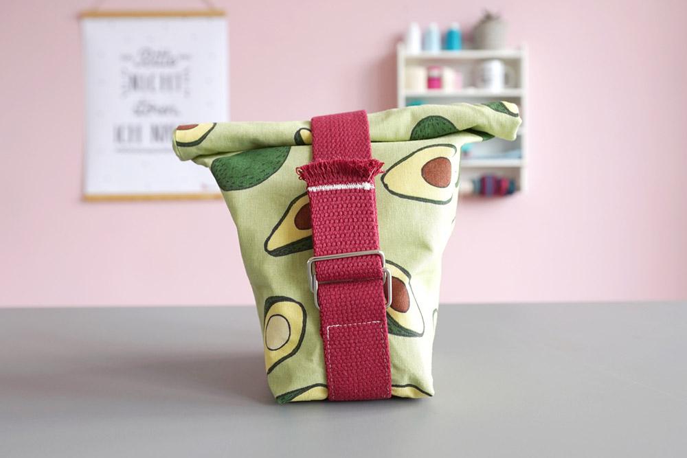 Makerist lunchbag avocado