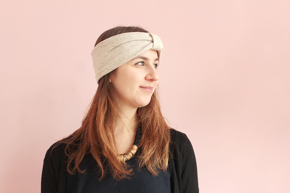 Stirnband selber nähen - ohne Schnittmuster!