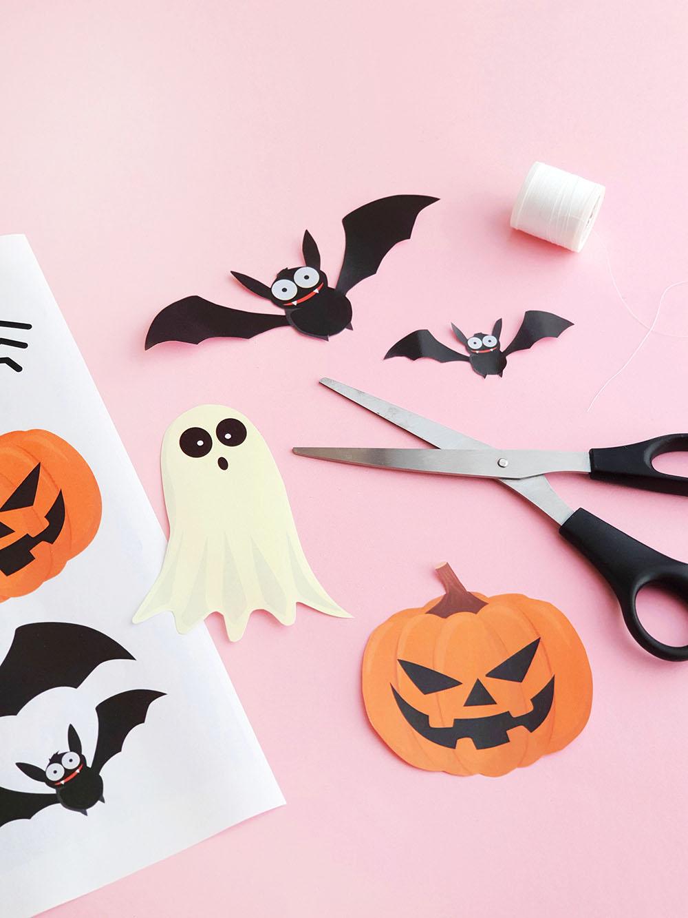 Makerist halloween dekoration gratis printable
